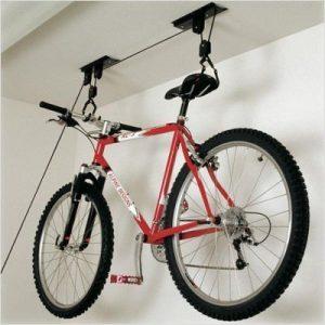 Ceiling Bicycle Storage Ideas - Bicycle Overhead Storage