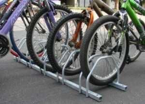 Floor Bicycle Storage Racks - Steel Bicycle Storage Rack