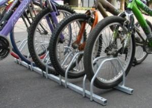 Floor Bicycle Storage Racks - Steel Bicycle Storage Rack