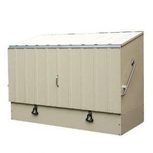 Bicycle Storage Shed - Bosmere Trimetals A305 Bicycle Storage Unit
