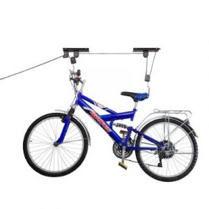 Ceiling Bicycle Storage Ideas - Hoist Storage Rack