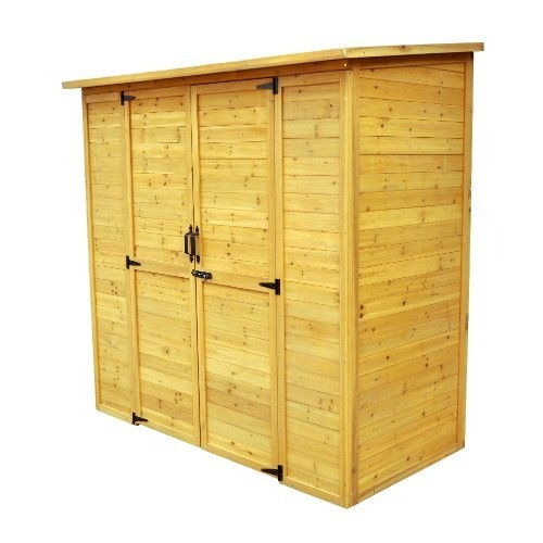 Leisure Season Extra Large Wood Shed
