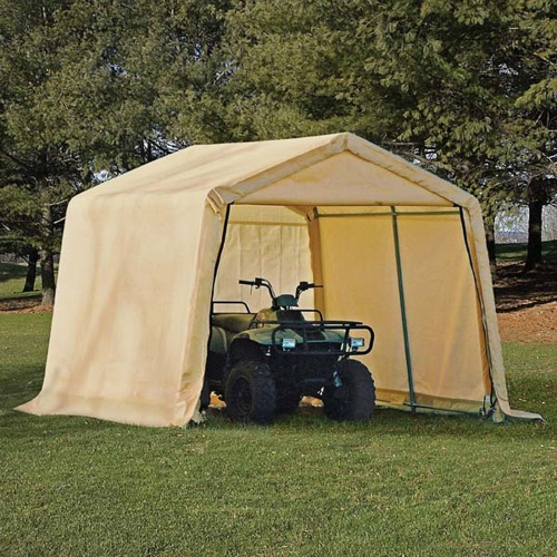 Shed-In-A-Box & Topeak Bikamper One-Person Bicycling Tent - Bicycle Storage Ideas