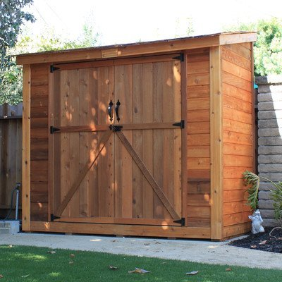 SpaceSaver Wood Shed