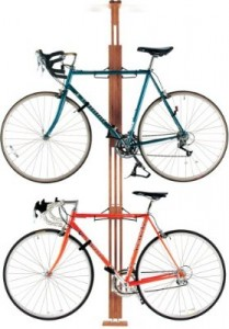 Floor Bicycle Storage Racks - Gearup OakRak Storage Rack