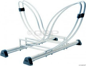 Floor Bicycle Storage Racks - Delta Seurat Two Bike Floor Stand