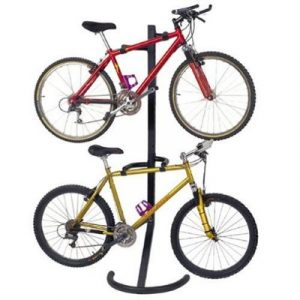 Floor Bicycle Storage Racks - Two Bike Stand
