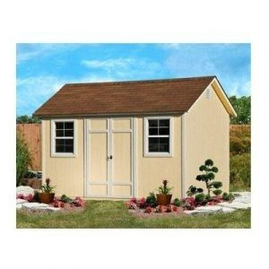 Yardline Wood Bicycle Shed