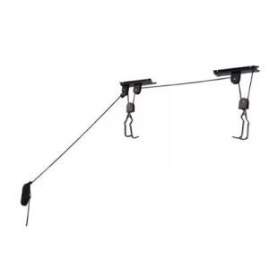 Ceiling Bicycle Storage Ideas - Rad Hoist Storage Rack