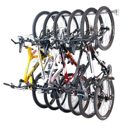 Multiple Bike Storage Rack by Monkey Bars