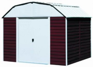 Bicycle Storage Shed - Steel Storage Shed