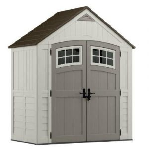 Bicycle Storage Shed - Suncast Cascade Shed